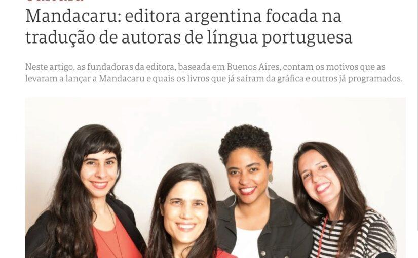 Nota_Clarín em Portugues