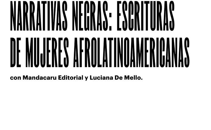 """Taller """"Narrativas negras""""_El Recoleta"""