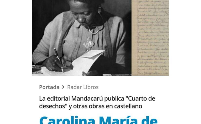 Carolina Maria de Jesus_Radar Libros