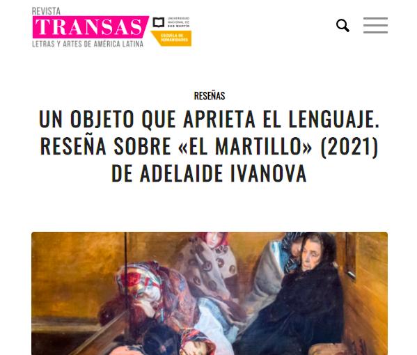 el martillo_Revista Transas